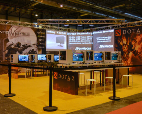 stand multimarca gamergy invierno 2014