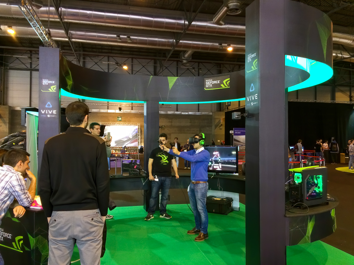 stand nvidia en madrid auto